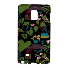 Wreaths Flower Floral Leaf Rose Sunflower Green Yellow Black Galaxy Note Edge by Mariart