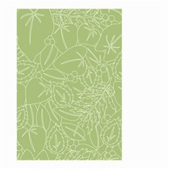 Blender Greenery Leaf Green Small Garden Flag (two Sides) by Mariart