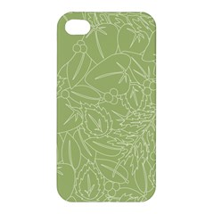 Blender Greenery Leaf Green Apple Iphone 4/4s Premium Hardshell Case by Mariart