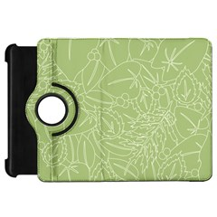 Blender Greenery Leaf Green Kindle Fire Hd 7  by Mariart
