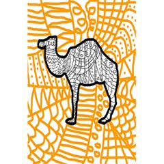 Animals Camel Animals Deserts Yellow 5 5  X 8 5  Notebooks by Mariart