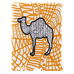 Animals Camel Animals Deserts Yellow Apple Ipad 3/4 Hardshell Case (compatible With Smart Cover) by Mariart