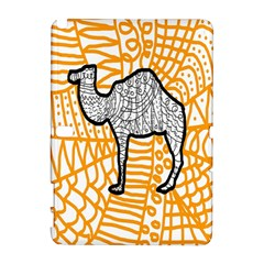 Animals Camel Animals Deserts Yellow Galaxy Note 1 by Mariart