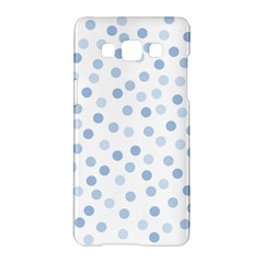 Bubble Balloon Circle Polka Blue Samsung Galaxy A5 Hardshell Case  by Mariart