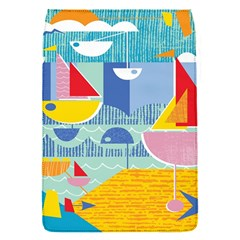 Boats Ship Sea Beach Flap Covers (s)  by Mariart