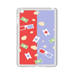 Glasses Red Blue Green Cloud Line Cart Ipad Mini 2 Enamel Coated Cases by Mariart