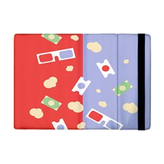 Glasses Red Blue Green Cloud Line Cart Ipad Mini 2 Flip Cases by Mariart