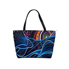 Fish Out Of Water Monster Space Rainbow Circle Polka Line Wave Chevron Star Shoulder Handbags by Mariart