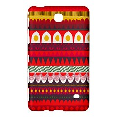 Fabric Aztec Red Line Polka Circle Wave Chevron Star Samsung Galaxy Tab 4 (8 ) Hardshell Case  by Mariart
