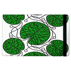 Leaf Green Apple Ipad 3/4 Flip Case by Mariart