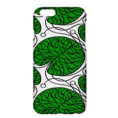 Leaf Green Apple Iphone 6 Plus/6s Plus Hardshell Case by Mariart