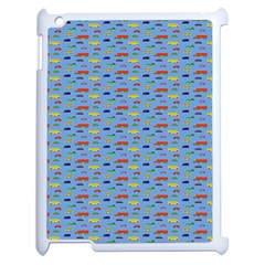 Miniature Car Buses Trucks School Buses Apple Ipad 2 Case (white) by Mariart