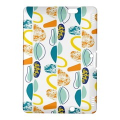 Pebbles Texture Mid Century Kindle Fire Hdx 8 9  Hardshell Case by Mariart