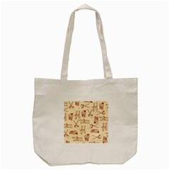 Sheep Goats Paper Scissors Tote Bag (cream) by Mariart