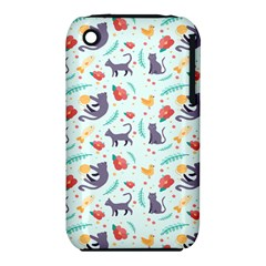 Redbubble Animals Cat Bird Flower Floral Leaf Fish Iphone 3s/3gs by Mariart