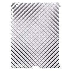 Simple Pattern Waves Plaid Black White Apple Ipad 3/4 Hardshell Case (compatible With Smart Cover) by Mariart