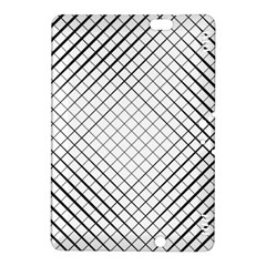 Simple Pattern Waves Plaid Black White Kindle Fire Hdx 8 9  Hardshell Case by Mariart