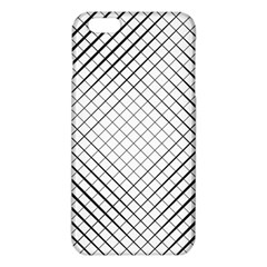 Simple Pattern Waves Plaid Black White Iphone 6 Plus/6s Plus Tpu Case by Mariart