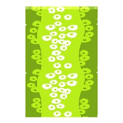 Sunflower Green Shower Curtain 48  X 72  (small)  by Mariart