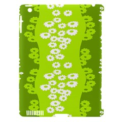 Sunflower Green Apple Ipad 3/4 Hardshell Case (compatible With Smart Cover) by Mariart