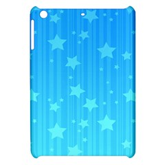 Star Blue Sky Space Line Vertical Light Apple Ipad Mini Hardshell Case by Mariart