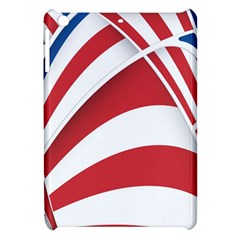 American Flag Star Blue Line Red White Apple Ipad Mini Hardshell Case by Mariart