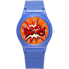 Boom Sale Orange Round Plastic Sport Watch (s) by Mariart