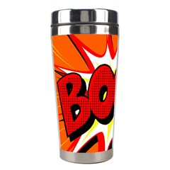 Boom Sale Orange Stainless Steel Travel Tumblers by Mariart