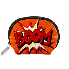 Boom Sale Orange Accessory Pouches (small)  by Mariart