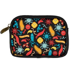 Worm Insect Bacteria Monster Digital Camera Cases by Mariart