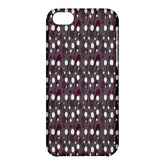 Circles Dots Background Texture Apple Iphone 5c Hardshell Case by Mariart