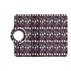 Circles Dots Background Texture Kindle Fire Hd (2013) Flip 360 Case by Mariart