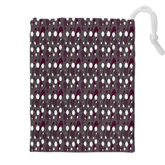 Circles Dots Background Texture Drawstring Pouches (xxl) by Mariart