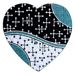 Decoboom Custom Pickguard Engraved Eames Dots Jigsaw Puzzle (heart) by Mariart