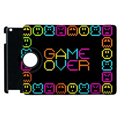 Game Face Mask Sign Apple Ipad 2 Flip 360 Case by Mariart