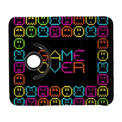 Game Face Mask Sign Galaxy S3 (flip/folio) by Mariart