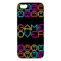 Game Face Mask Sign Iphone 5s/ Se Premium Hardshell Case by Mariart
