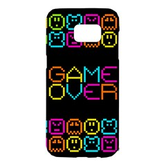 Game Face Mask Sign Samsung Galaxy S7 Edge Hardshell Case by Mariart