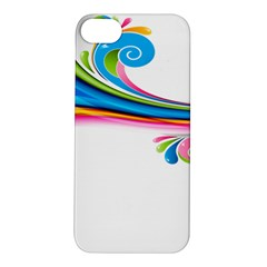 Colored Lines Rainbow Apple Iphone 5s/ Se Hardshell Case by Mariart