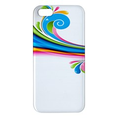 Colored Lines Rainbow Iphone 5s/ Se Premium Hardshell Case by Mariart