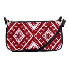 Fabric Aztec Shoulder Clutch Bags by Mariart