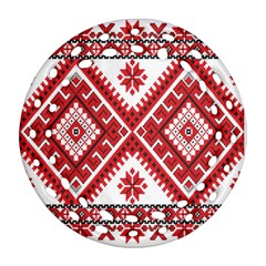 Fabric Aztec Ornament (round Filigree) by Mariart