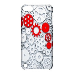 Iron Chain White Red Apple Ipod Touch 5 Hardshell Case With Stand by Mariart