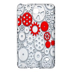 Iron Chain White Red Samsung Galaxy Tab 4 (7 ) Hardshell Case  by Mariart