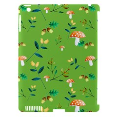 Mushrooms Flower Leaf Tulip Apple Ipad 3/4 Hardshell Case (compatible With Smart Cover) by Mariart