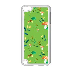 Mushrooms Flower Leaf Tulip Apple Ipod Touch 5 Case (white) by Mariart