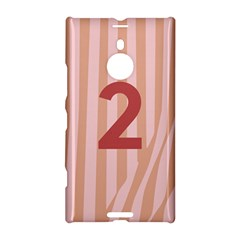 Number 2 Line Vertical Red Pink Wave Chevron Nokia Lumia 1520 by Mariart