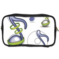 Notes Musical Elements Toiletries Bags by Mariart