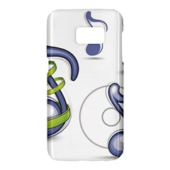 Notes Musical Elements Samsung Galaxy S7 Hardshell Case