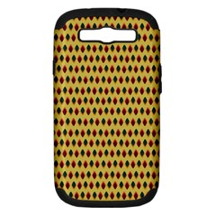 Points Cells Paint Texture Plaid Triangle Polka Samsung Galaxy S Iii Hardshell Case (pc+silicone) by Mariart